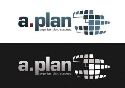 """Das neue """"A-Plan"""" Logo"""