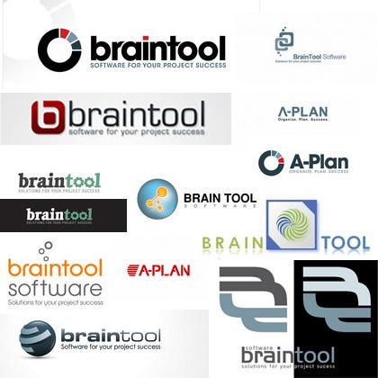 Welches Logo passt zu Braintool und A-Plan?