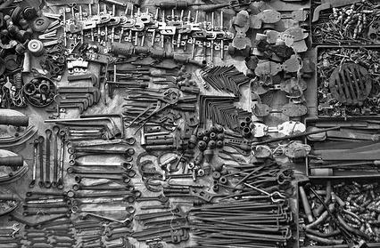 Tools im Projektmanagement (Quelle flickr.com @Meanest Indian)