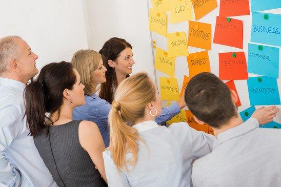 Wie funktioniert Brainstorming?