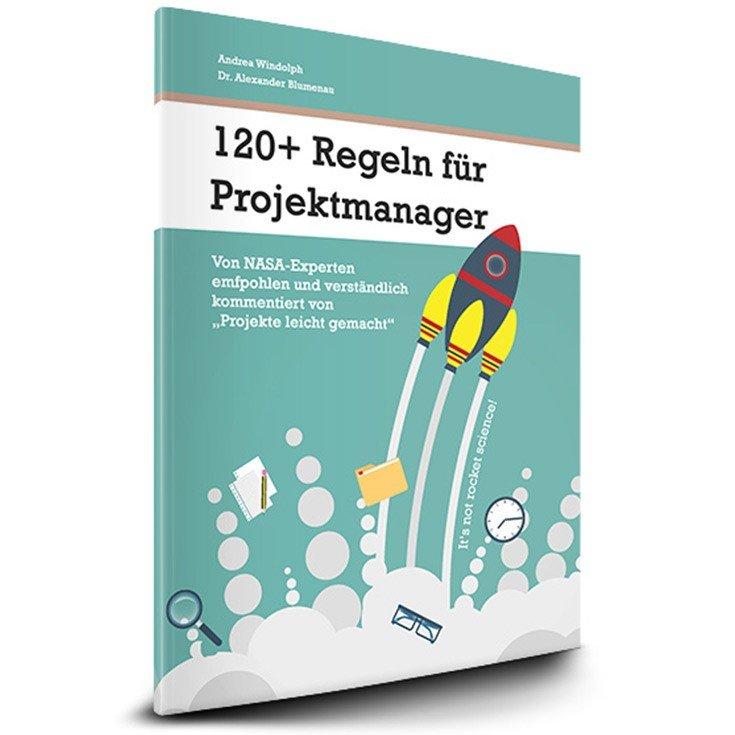 """Gewinnspiel Buch """"120+ Regeln für Projektmanager"""""""