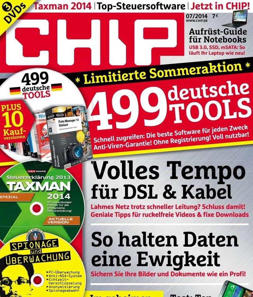CHIP Titelseite