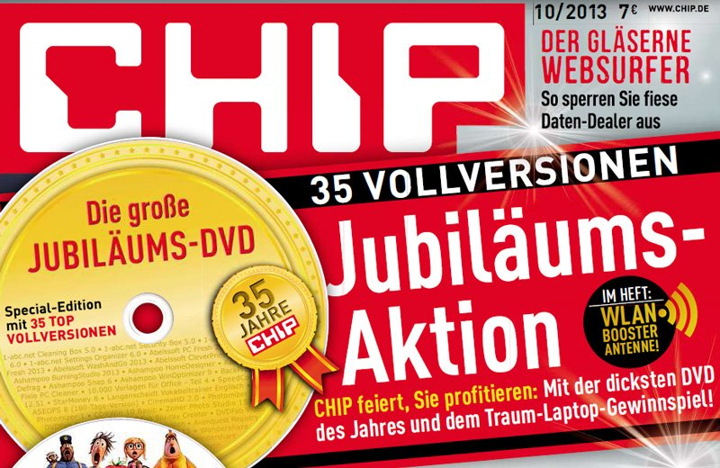 PM Software A-Plan als Chip-Edition auf Jubiläums-DVD