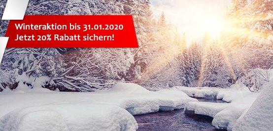 PM Software Winteraktion: 20 Prozent Rabatt